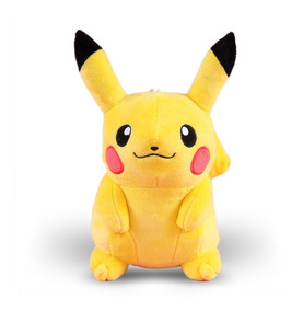 Boneco Pelúcia Pikachu Pokémon 24cm Criança Presente
