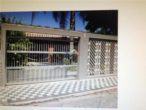 Imagem 1 de 30 de Ref 8189 Linda Casa Em Mongaguá Prox. Da Praia De Vera Cruz ( Um Quarteirão) Com 4 Quartos  E Garagem Para 3 Carros! Não Aceita Permuta - 8189