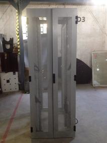 Rack P/ Servidor 40u Completo C/ Porta De Vidro E Laterais.