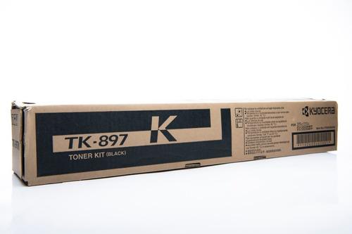 Imagen 1 de 2 de Toner Tk-897k Kyocera Original
