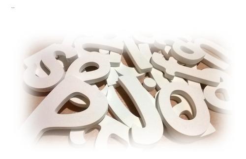 Imagen 1 de 4 de Letras, Nombres, Recuerdos, En Madera Y Mdf, De 10cm