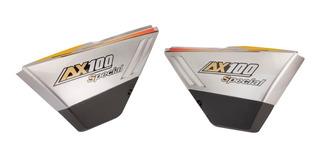 Juego Cacha Lateral Asiento P/ Suzuki Ax 100 Mtc