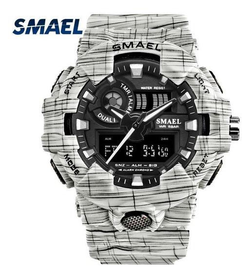 Smael 8001 Esporte Relógios Impermeáveis