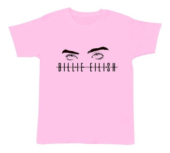 Playera Niño Billie Eilish Ocean Eyes Blohsh 3 A 16 Años