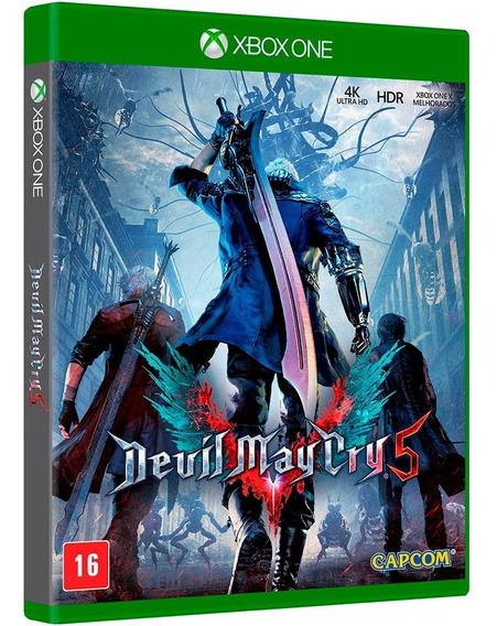 Devil May Cry 5 Xbox One Mídia Física Novo Lacrado