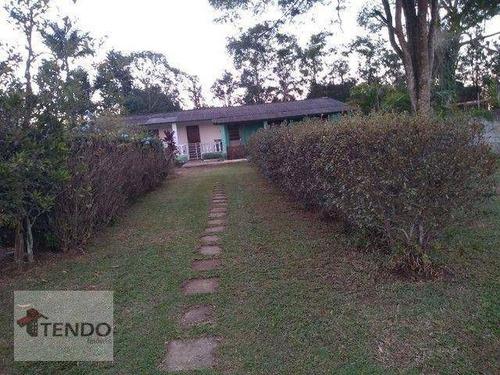 Imagem 1 de 16 de Imob03 - Chácara Com 2 Dormitórios À Venda, 600 M² Por R$ 373.000 - Chácaras Duchen - Suzano/sp - Ch0096
