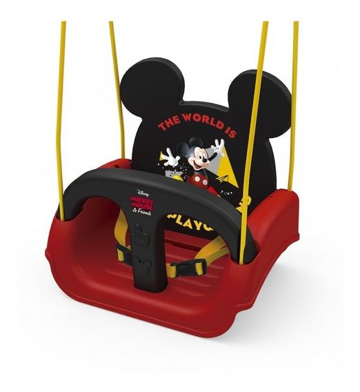 Balanço Infantil Mickey Com Encosto Regulável - Xalingo