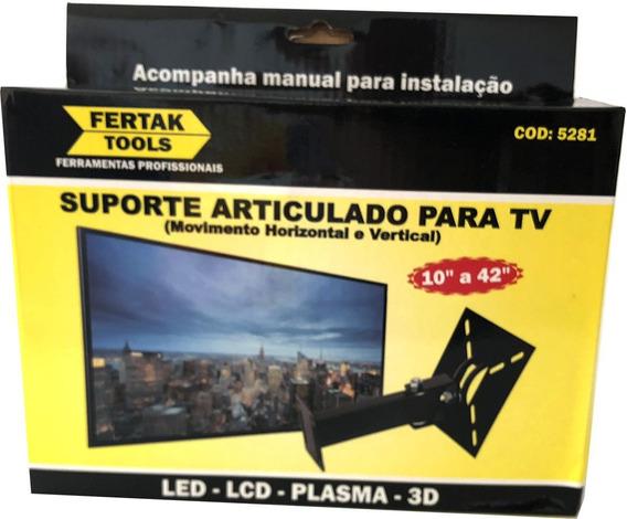 Suporte Articulado E Inclinável Para Tv 10 À 42