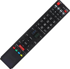Controle Tv Led Sharp Aquos Com Pilhas - Todas Sharp Lcd/led