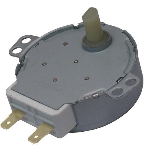 Imagem 1 de 1 de Motor Microondas 4w 5/6 Rpm Eixo Plastico 220 / 240 Volts