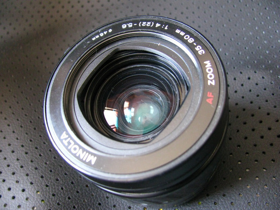 Lente Minolta 35-80 4.0-5,5 Af + Camera Minolta 35mm Gratis!