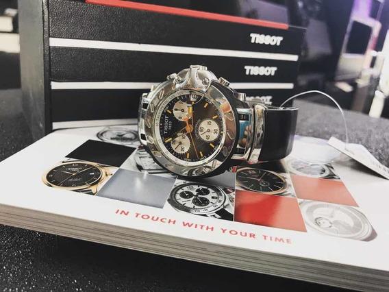 Relógio Tissot 1853 T Race Semi-novo Com Manual E Caixa Top