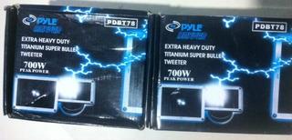 Tweeter Pyle Dryver Pro Pdbt78 / 700w Ts511