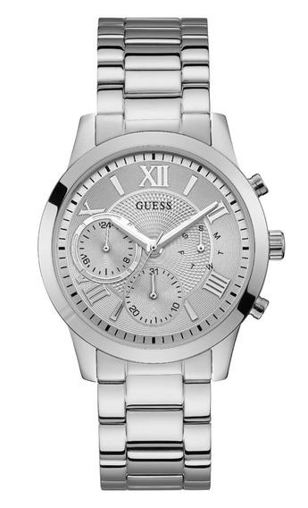 Relógio Feminino Guess Prateado Cronógrafo 92686l0gdna1