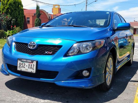 Toyota Corolla 2.4 Xrs 5vel Aa Ee Cd R-16 Mt 2010