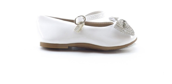 Zapatos Chatitas Moño Brilloso Molekinha Chatas 2106.171