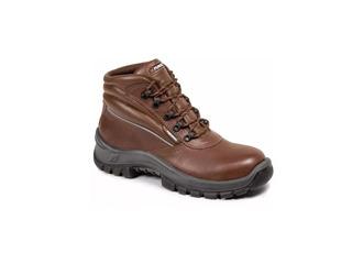 Zapato De Seguridad Calzado Funcional Aurum Marron Cuotas