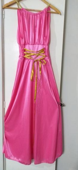 Vestido De Fiesta 15 Años Estilo Griego Impecable S Rasado