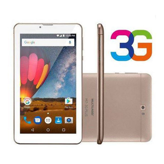 Tablet Multilaser M7 Plus 3g Tela 7 Quad Core 1gb