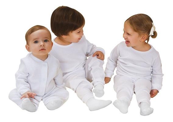 Conjunto Pijama Térmica 2 Piezas Para Bebés Talla 2 O 4 Años
