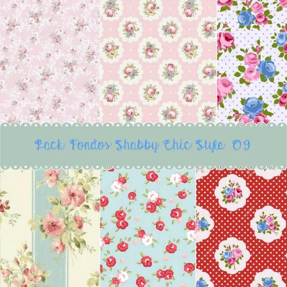 Promo Pack De 40 Fondos Shabby Chic Style 09