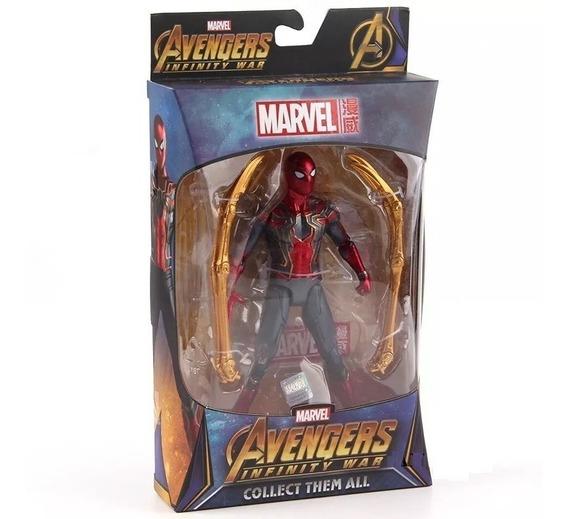 Homem Aranha De Ferro Articulado Vingadores