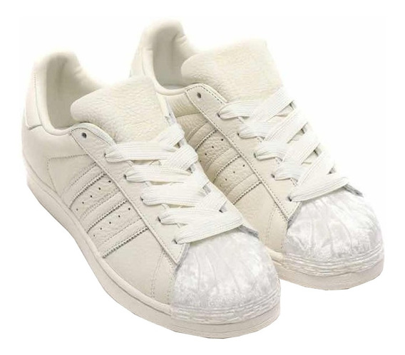 Tenis adidas Superstar W Originals Cg6010 Off White.