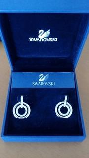 Zarcillos De Swarovski Originales Con Certificado Nue