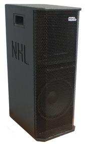 Caixa De Som Amplificada 800w Line Vertical 10 Pol Titânio