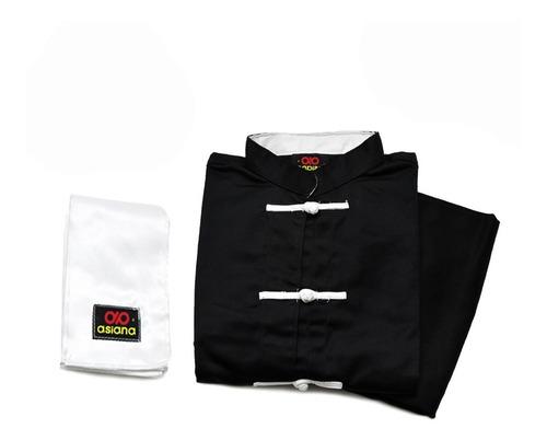 Ithaca Store Asiana - Traje Uniforme Kung Fu Wushu Negro