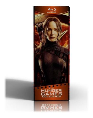Blu-ray Los Juegos Del Hambre Películas Colección