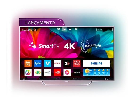 Smart Tv Led Ultra Hd 4k Ambilight 65 Philips 65pug6412/78