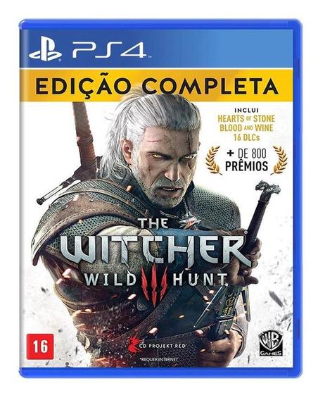 The Witcher 3 Wild Hunt Edição Completa Ps4 Mídia Física