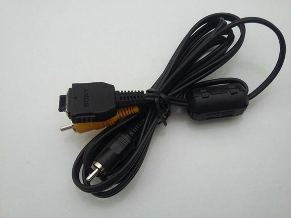 Cabo Original Sony Zcat 2035-0930 Áudio Vídeo Rca Cybershot!