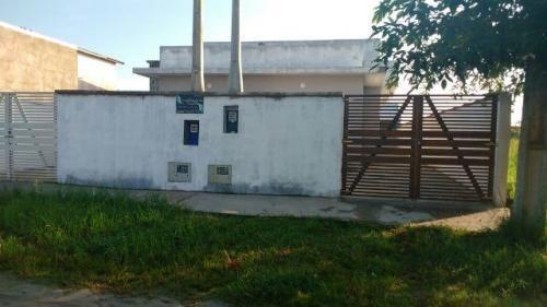 Casa Em Fase De Acabamento Com 2 Quartos Em Itanhaém 3233-pc