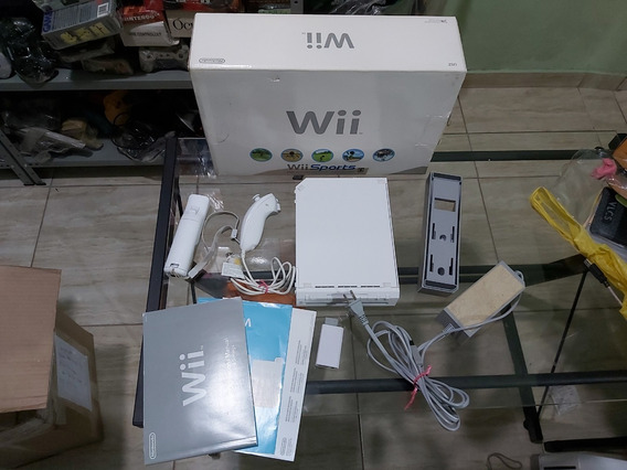 Nintendo Wii Desbloqueado Por Soft Na Caixa