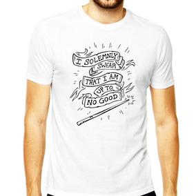 Camiseta Harry Magia Potter Vara Magica Dobby Black Harry