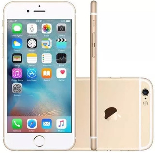 Apple iPhone 6 Plus Dourado Original + Acessorios + Capinha
