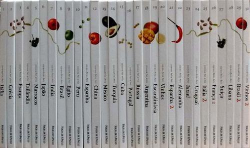 Coleção Cozinha País A País (completa 30 Sem Autor
