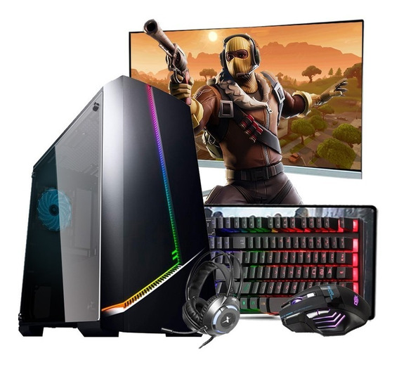 Pc Gamer Completo I3 7º Ger. Gtx 1050 16gb Ssd 480gb Mon.27