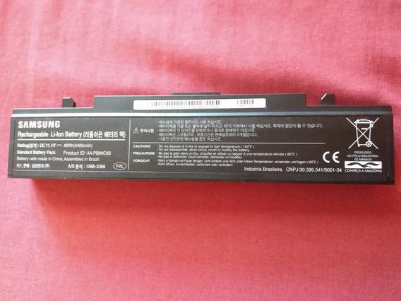 Kit Bateria + Carregador Notebook Samsung Np370e4k Original