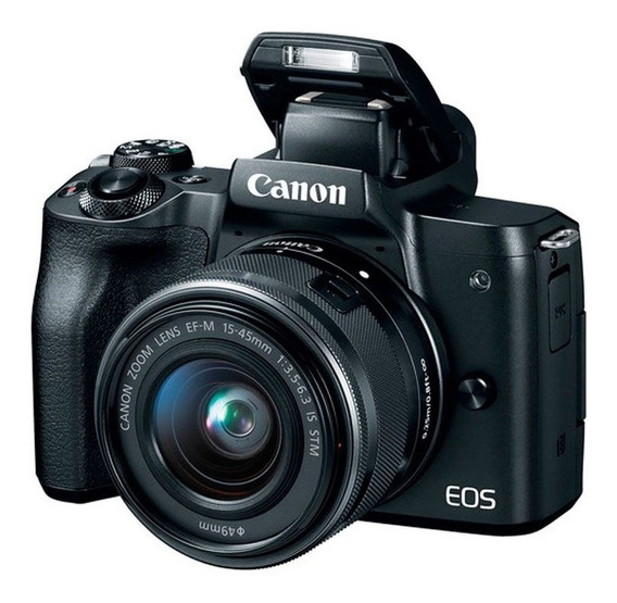 Canon Eos M50 15-45mm F/3.5-6.3 Is Stm + Nf-e
