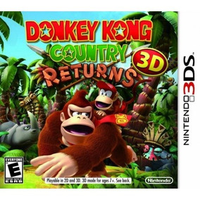 Jogo Donkey Kong Country Returns 3d - Nintendo 3ds