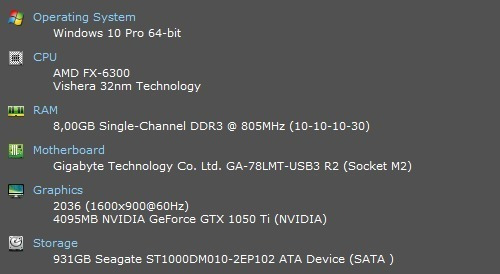 Pc Gamer Gforce Gtx 1050i 4gb Hd 1 Tb Ram 8gb Ddr3