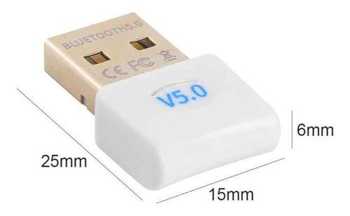 Imagen 1 de 4 de Bluetooth 5.0 Usb Adaptador Dongle