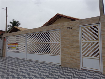 Ref.: 721 - Casa Condomínio Fechado Em Praia Grande, No Bairro Maracana - 2 Dormitórios