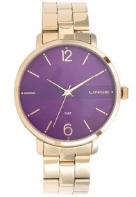 Relógio Lince Dourado