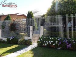 Casa 3 Dormitórios E 5 Vagas , Santo Inácio, Curitiba - Ca0077. - Ca0077
