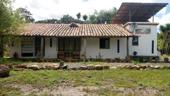 Casa, Finca, Rústica; Villa De Leyva, Cerca De Olivanto