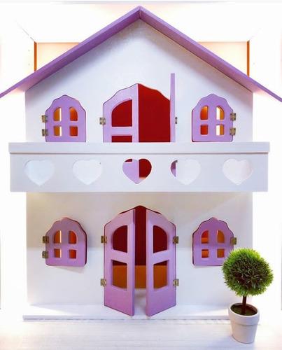 Casa Para Muñecas Barbie Y Similares